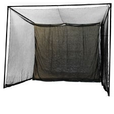 NEW 10 x 10 Enclosed Indoor Golf Simulator Hitting Net for Game ...