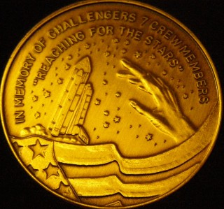 space shuttle challenger coins - photo #41