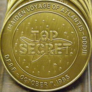 space shuttle challenger coins - photo #23