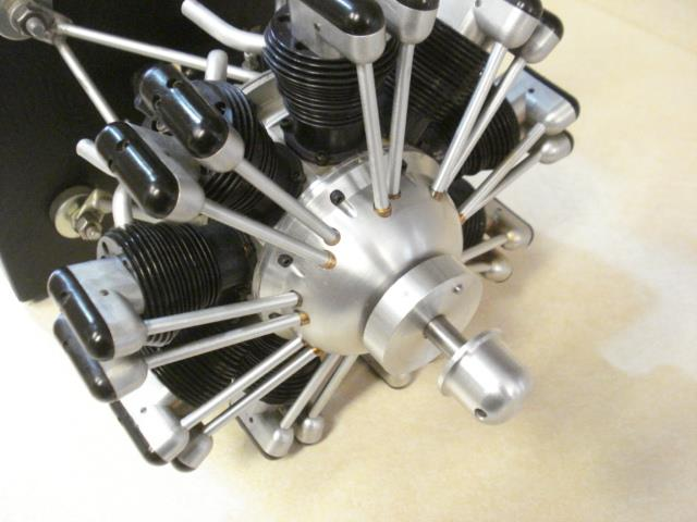 Technopower 9 Cylinder Radial Rc Model Airplane Engine