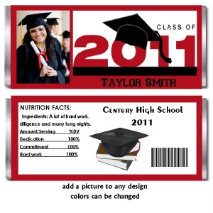 10 graduation candy bar wrappers for Free printable graduation candy bar wrappers templates