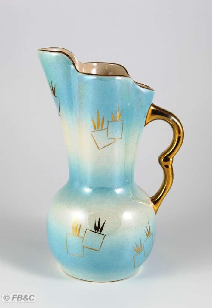 retro australian ceramics crown newton ware lustre vase ebay. Black Bedroom Furniture Sets. Home Design Ideas