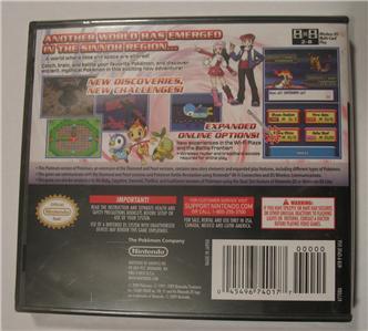 pokemon platinum game unlocked nintendo ds lite dsi xl 3ds all 493 rh ebay com pokemon platinum mansion Pokemon Platinum Character