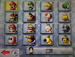 Mario Kart 7 Unlocked All Characters Golden Kart Parts Wheels