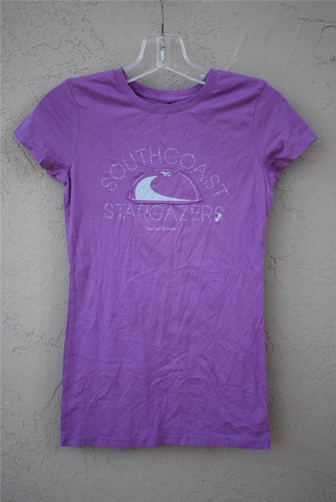 Women's American Eagle Short Sleeve Graphic T Shirt Purple ...