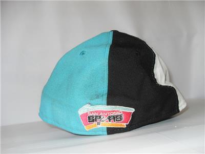 2d7d8f73744 New Men s San Antonio Spurs Hat - Color  Black - Size  7 1 4 - NWOT ...