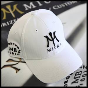 e546ab07c9b4f Miura Golf Cap Hat Authentic FLEXFIT DELTA