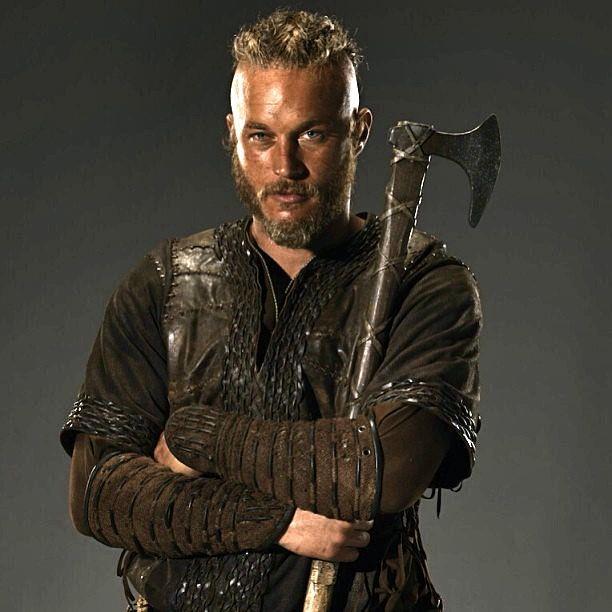 Image of Viking axe Ragnar Lothbrok TV series Vikings