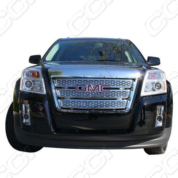 Chrome Grille Overlay For 2010 2011 2012 2013 2014 Gmc