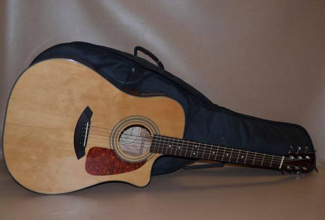 fender classic cd 140sce nat acoustic electric guitar w soft case 7 31874 ebay. Black Bedroom Furniture Sets. Home Design Ideas