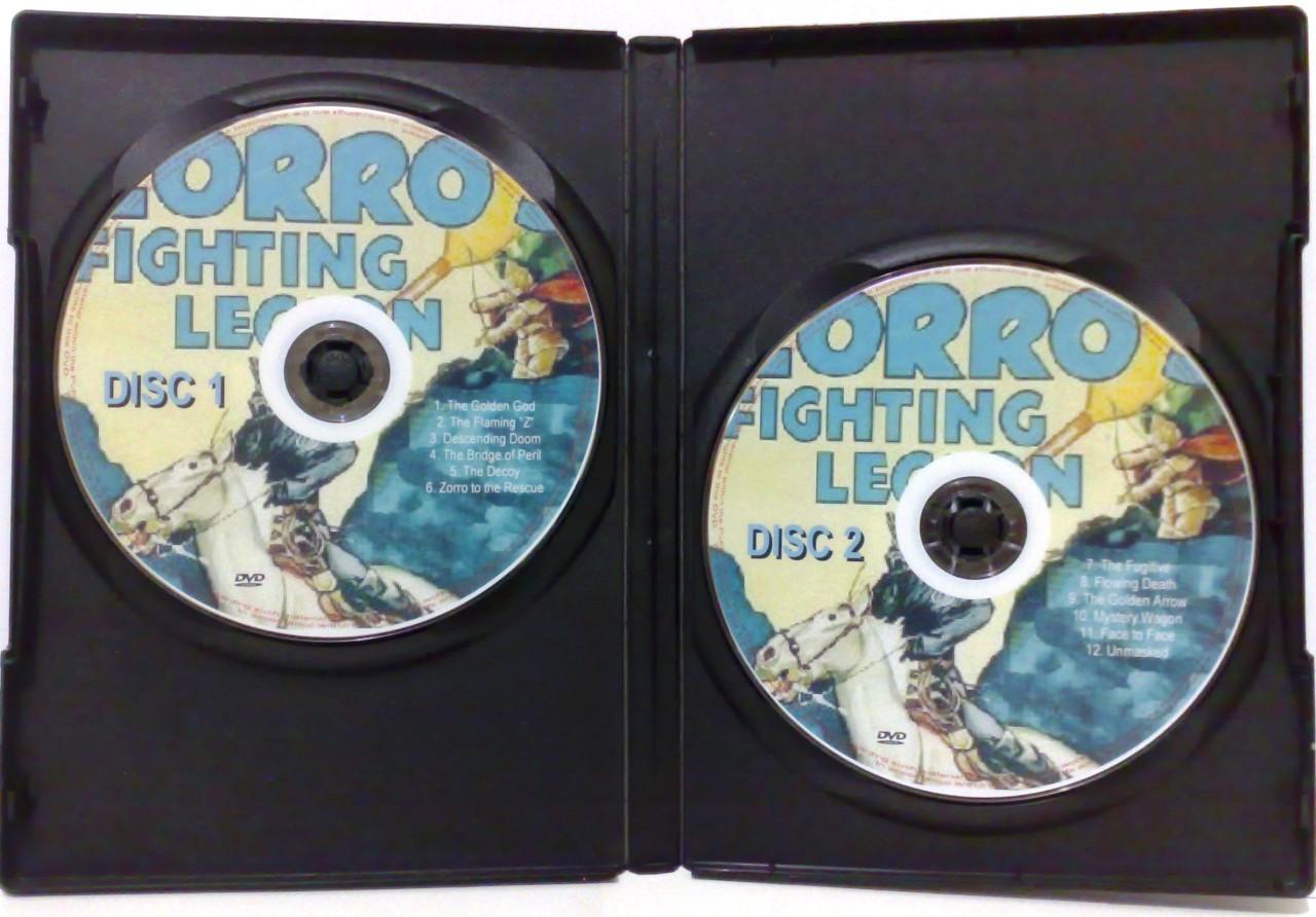 028 Zorros Fighting Legion Serial 2 Disc Dvd Set 1939 Ebay