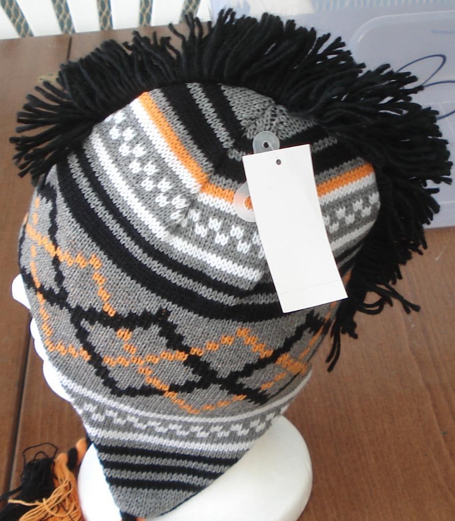 Mohawk trapper hat - 16 results from brands DDI, Eros, Aquarius, products like CP Infant Boys Striped Orange Fleece Mohawk Style Trapper Hat Months, Handmade Mohawk Winter Knit Trooper Trapper Hat XL, DDI Premium Adult Knit Winter Pattern Mohawk Ear Flap Trapper Hats.