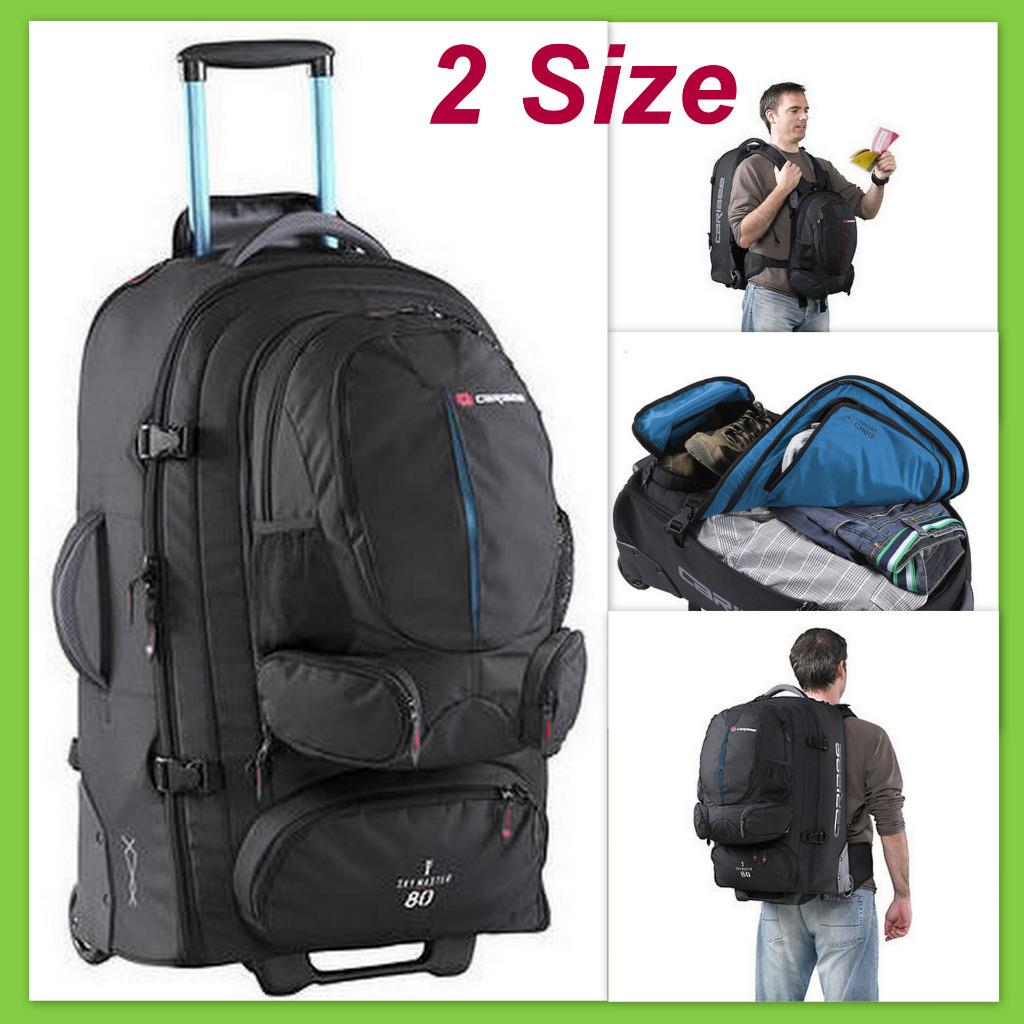 27b9b7805919 Details about Caribee Wheeled Backpack Sky-Master Luggage Travel Duffle  Trolley Bag Skymaster