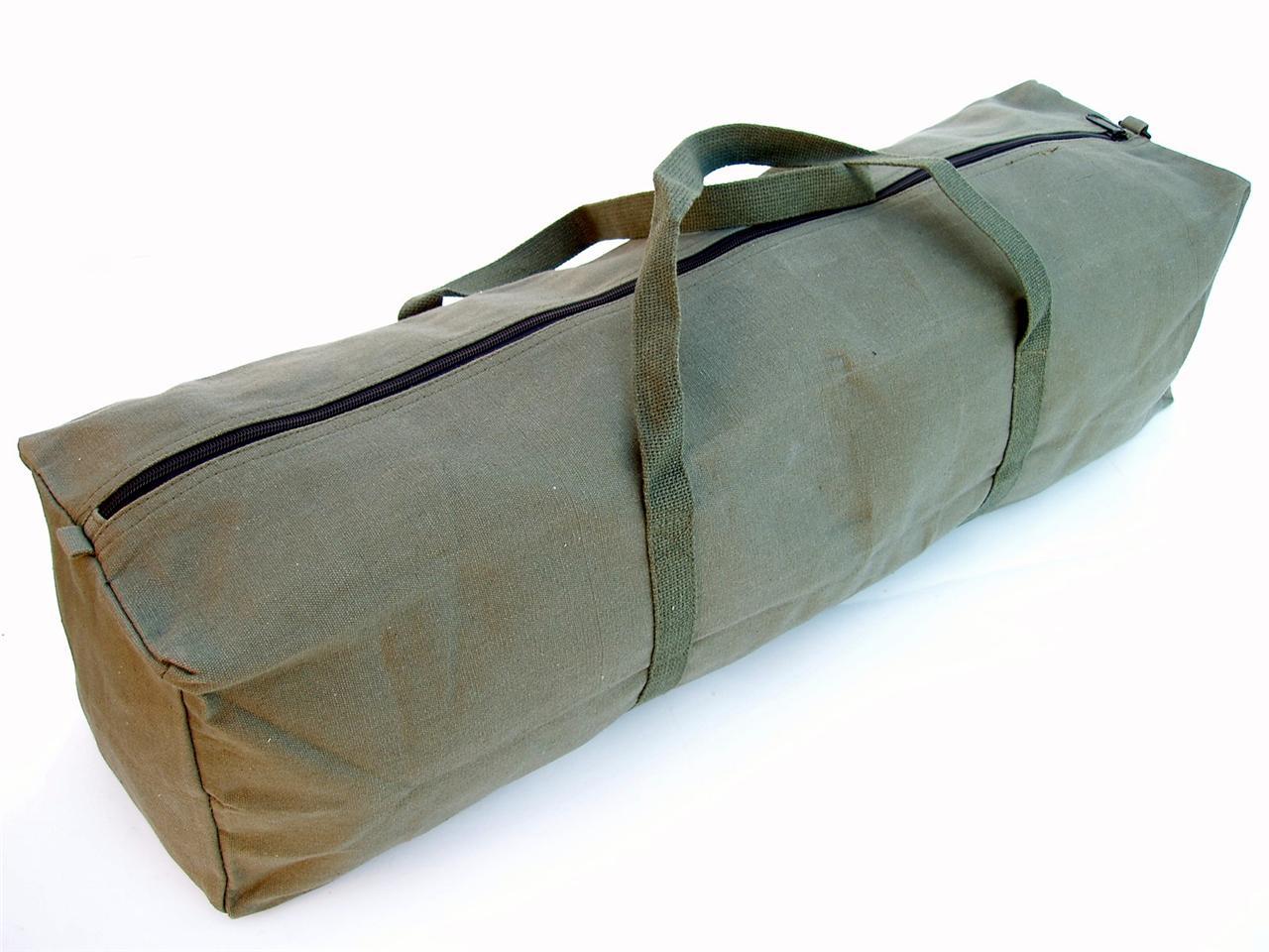 New Heavy Duty Canvas Tool Carry Bag Travel Luggage Duffel