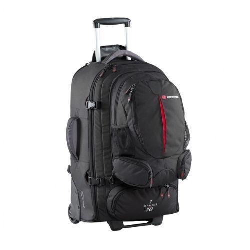 Details About Caribee Wheeled Backpack Sky Master Luggage Travel Duffle Trolley Bag Skymaster