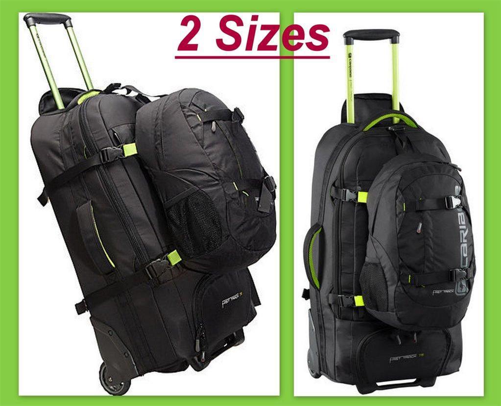 3485cb7d968b8a New Caribee Wheeled Backpack Fast Track Luggage Travel Duffle Trolley Bag 2  Size
