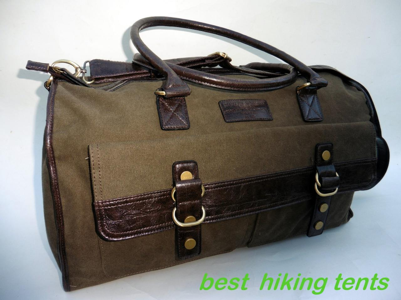 how to carry duffel bag