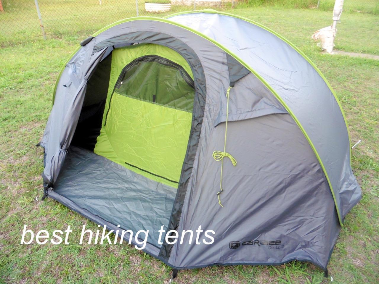Caribee Get Up Tent Auto Pop Up Speedy Instant Open C&ing Hiking 2-3 Mens Size & Caribee Get Up Tent Auto Pop Up Speedy Instant Open Camping Hiking ...