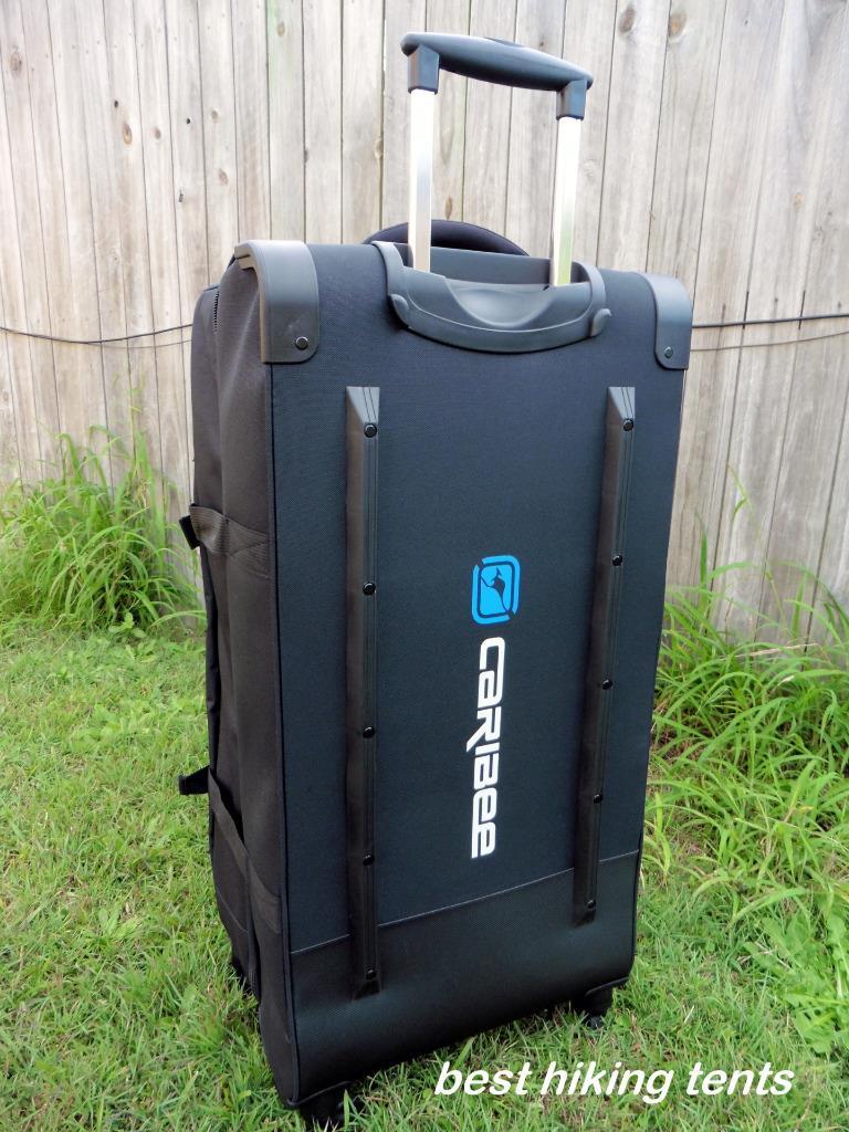 2c963f2382 New Caribee Goliath 120 Litre Travel Duffle Bag Wheeled Luggage Wheel  Trolley XL