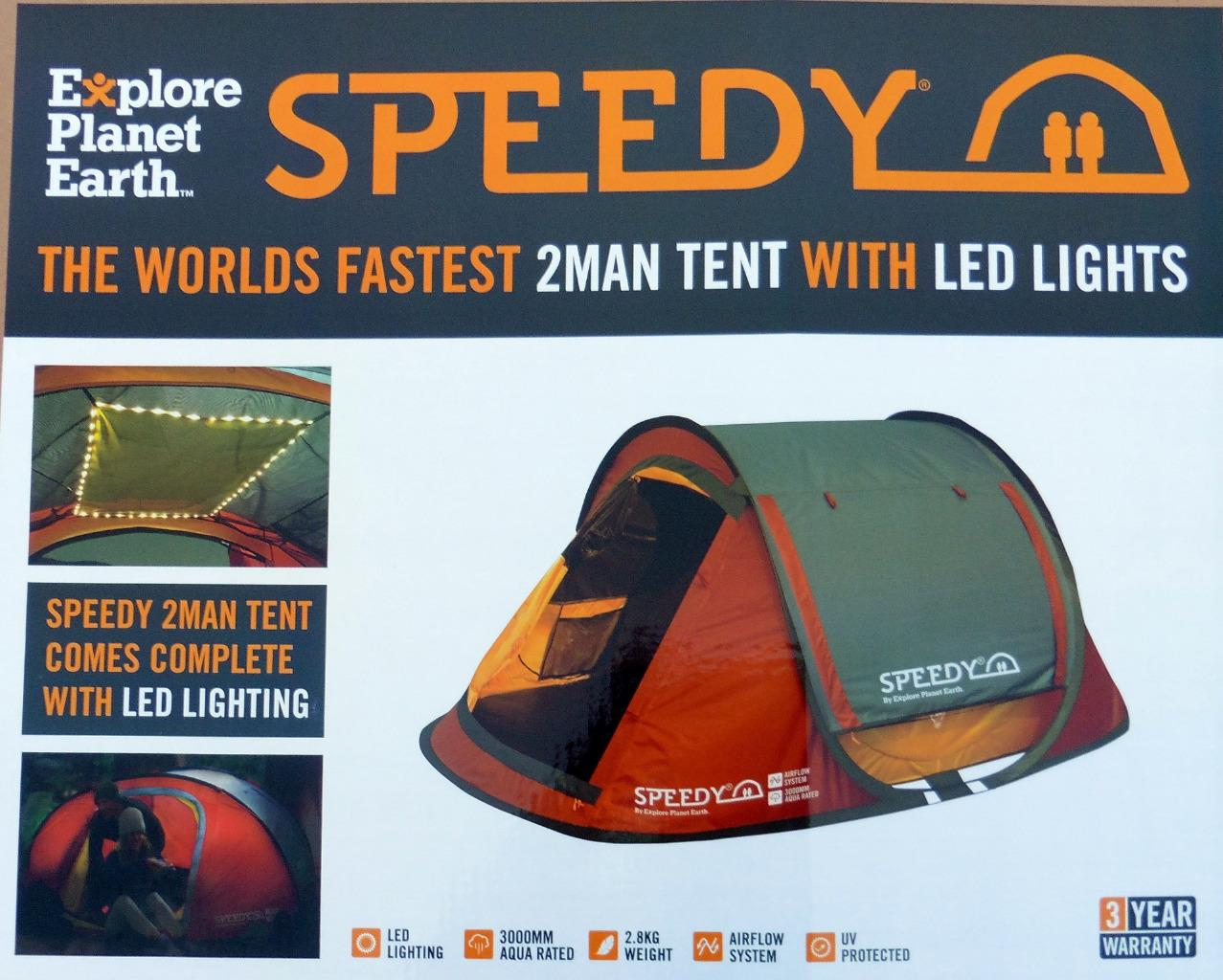 Genuine-EPE-Auto-Pop-Up-Speedy-Tent-Original-  sc 1 st  eBay & Genuine EPE Auto Pop Up Speedy® Tent Original Instant Open Camping ...