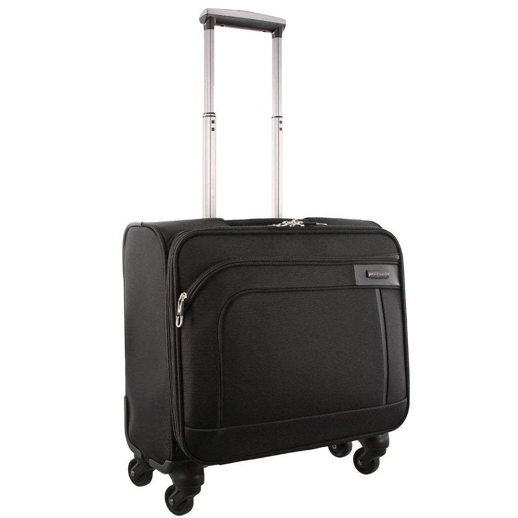 Pierre Cardin 4wheel Mobile Office Cabin Laptop Luggage