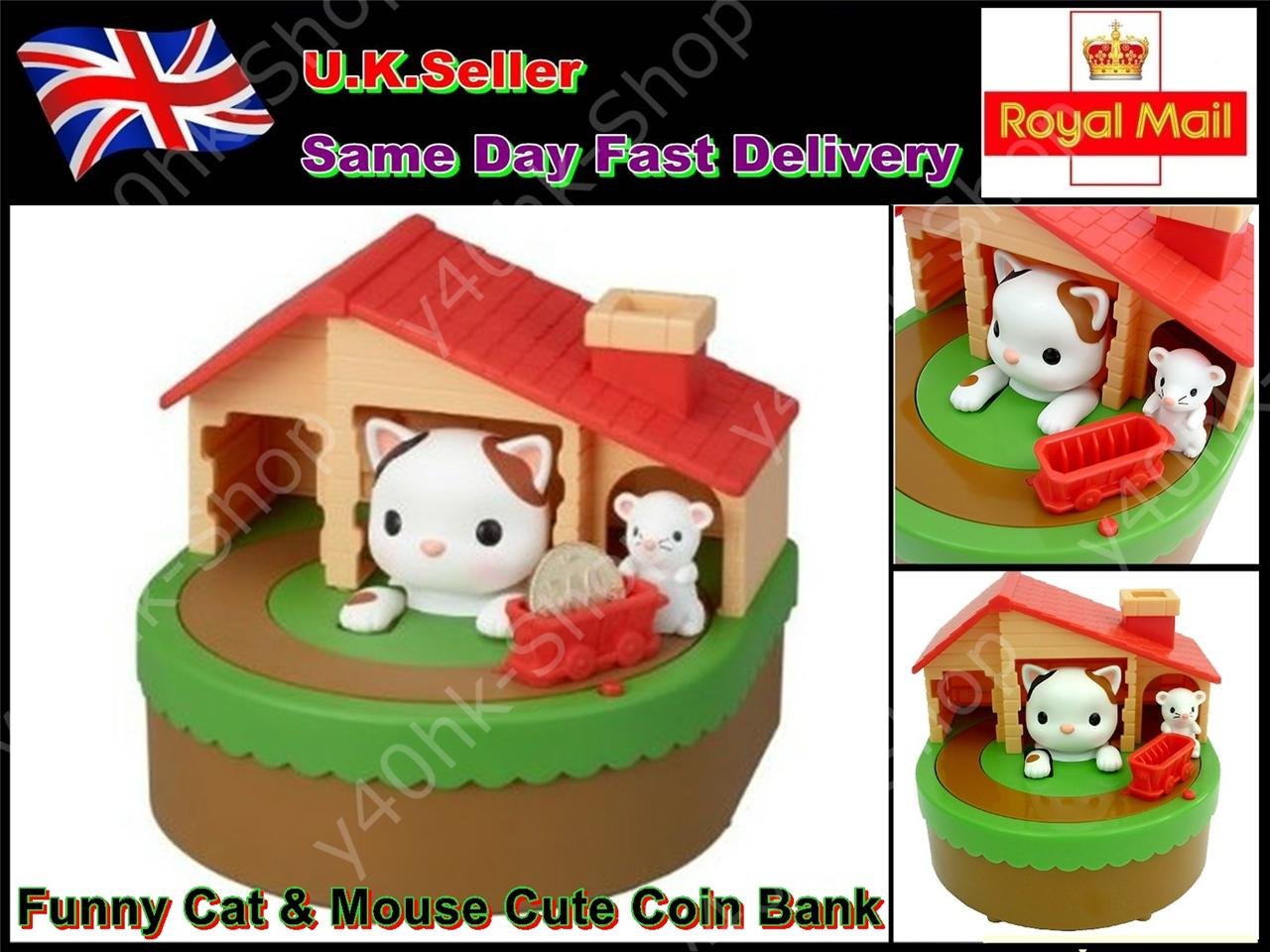 Cat coin box funny answers : Adventure time coin bank and trust