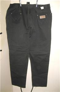 deadstock wrangler vintage jeans black sanforized made in usa women 39 s 40 1960 ebay. Black Bedroom Furniture Sets. Home Design Ideas