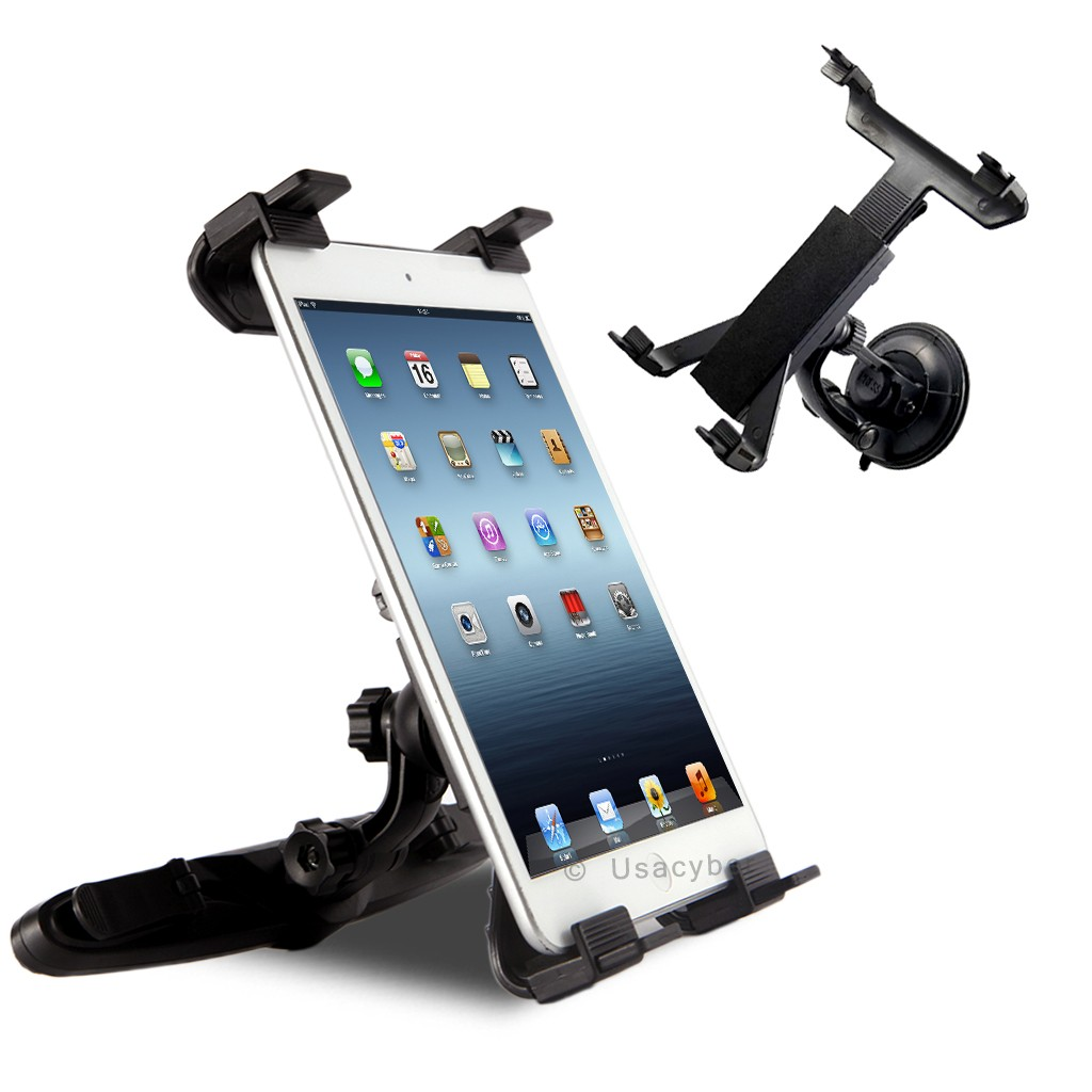 Universal Windshield & Car Back Seat Headrest Mount Holder