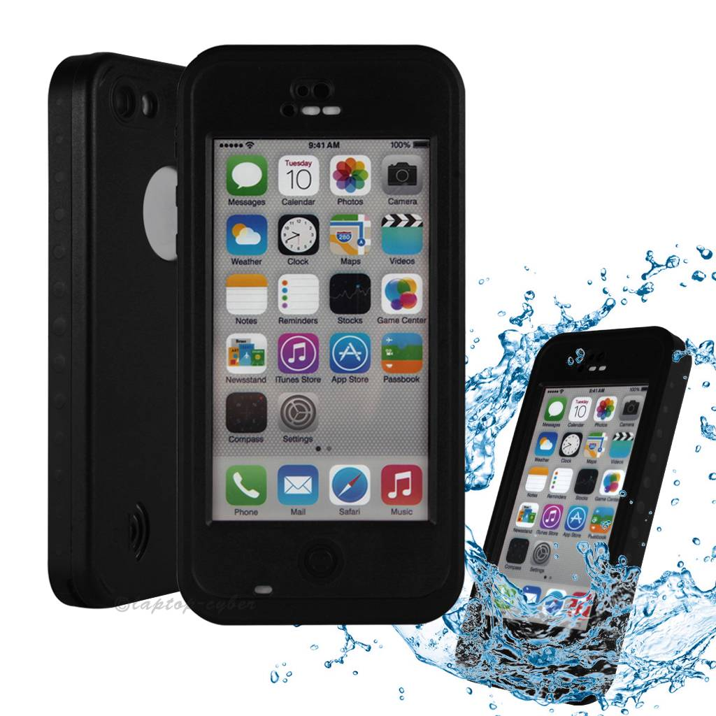 waterproof iphone 5c case redpepper brand new waterproof shockproof dirtproof 16461