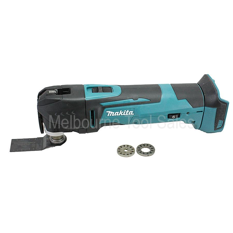makita xmt03 18v multi tool replaces the lxmt02 ebay. Black Bedroom Furniture Sets. Home Design Ideas