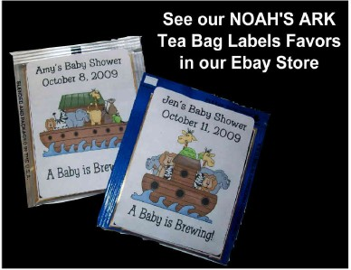 12 NOAH'S ARK BABY SHOWER FAVORS GAME CARDS eBay