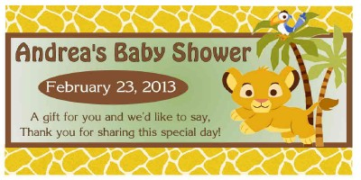 20 lion king baby simba baby shower party favors water bottle shop categories filmwisefo