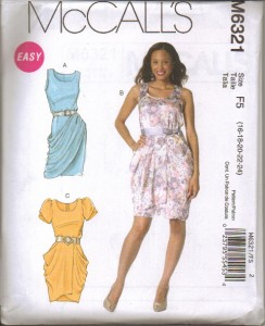 McCalls Sewing Pattern Misses Dress with McCall's Plus ...