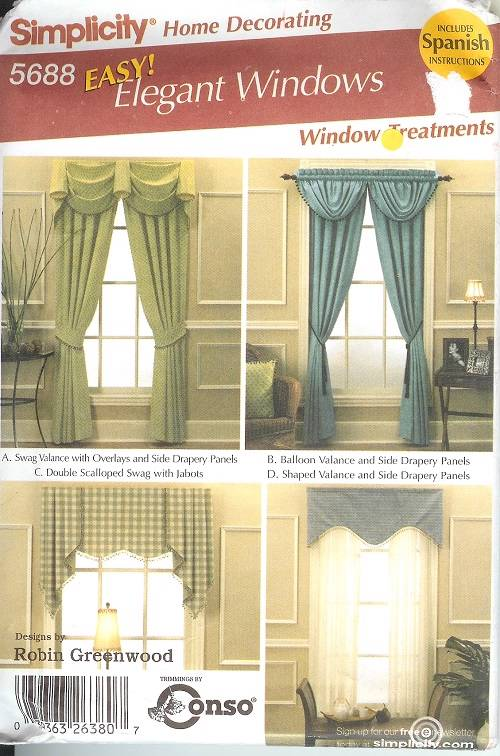 Simplicity Window Treatment Covering Curtains D Home Decor