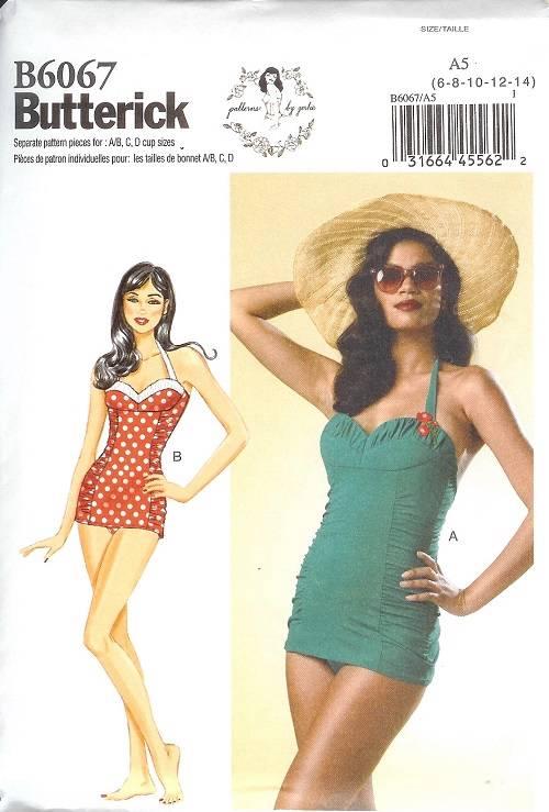 Vintage Swim Suit Pattern 93