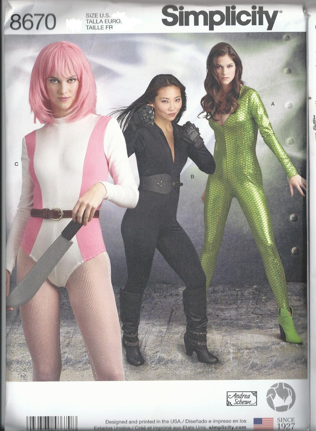 Simplicity-Sewing-Pattern-Cosplay-Costume-Misses-New-You-Pick