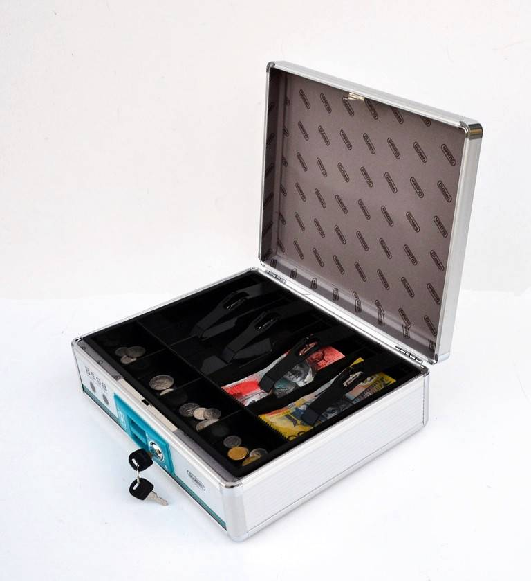 New Portable Lockable Cash Drawer Type Aluiminium Cash ...