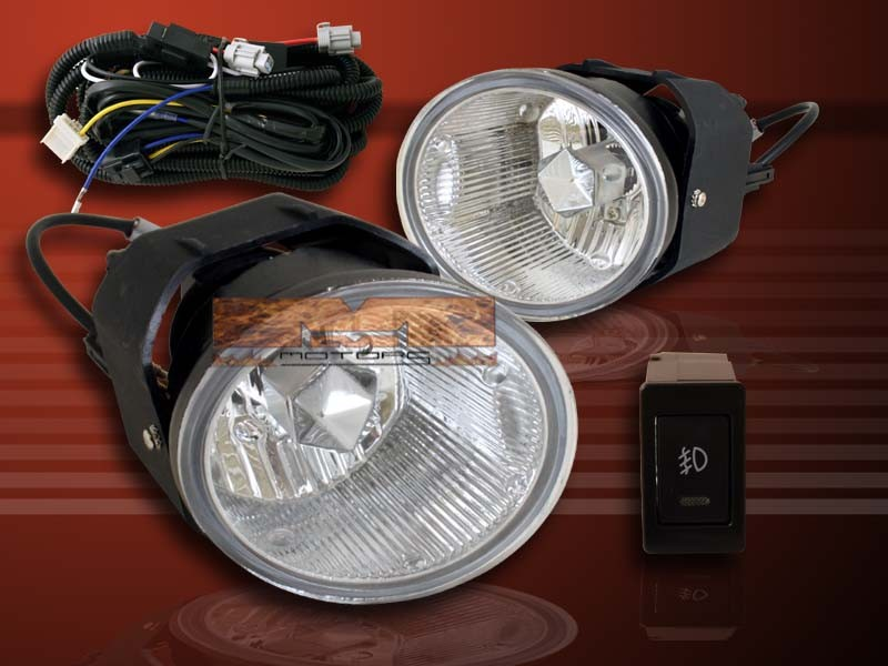 fit 2003 2004 x trail frontier fog lights wire kits. Black Bedroom Furniture Sets. Home Design Ideas