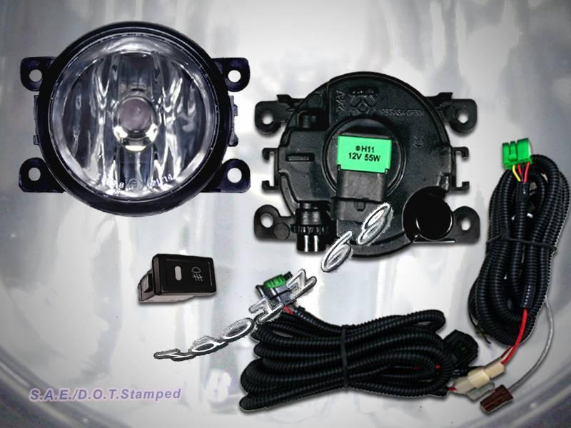 06 08 suzuki grand vitara fog light lamps kit with wire switch. Black Bedroom Furniture Sets. Home Design Ideas