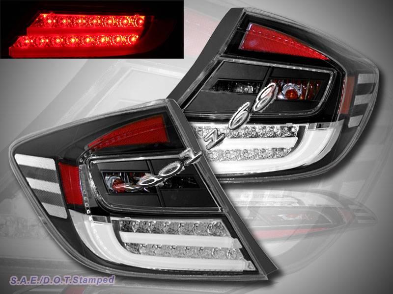 2012 Honda Civic Sedan Ex Dx Lx Gx 4door Led Tail Lights