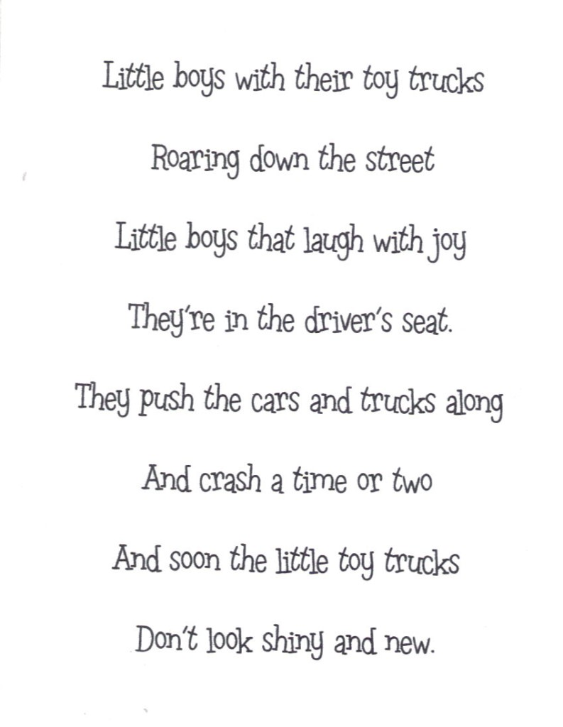 writing a short rhyming poem on mother