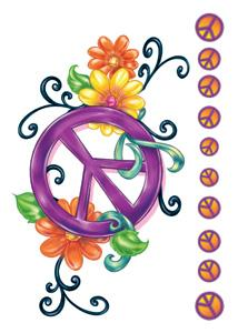 Peace sign tattoo, just looking for placement | tattoos ... |Small Tattoo Designs Peace Sign