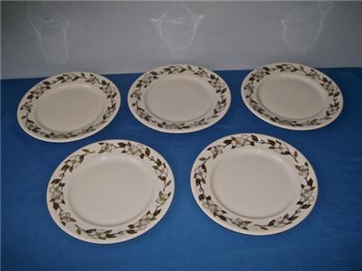 ( LOT OF 5 ) SHENANGO CHINA  DOGWOOD  DINNER PLATES SPOKANEPORTLAND u0026 SEATTLE | eBay & LOT OF 5 ) SHENANGO CHINA