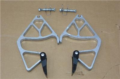 2 Werner Replacement Rung Lock Locks Kit Extension Ladder