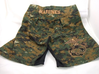 dc91d34e55 USMC MARINES ** COMBATANT MMA PT STREET TRAINNING COMPETITION (S-T-COMP )  MARPAT BOARD SHORTS / FIGHT SHORTS **