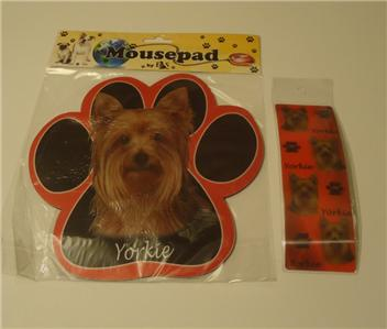 Dog Magnetic Bookmark /& Magnetic Notepad Yorkshire or Australia Silky Terrier