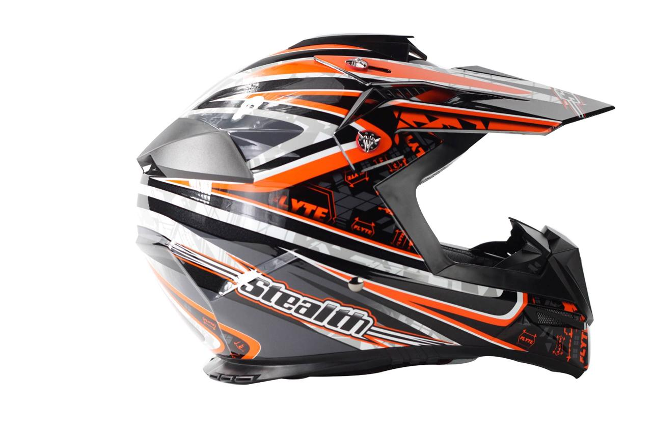 stealth droid hd210 motocross mx dirt bike helmet crosser. Black Bedroom Furniture Sets. Home Design Ideas