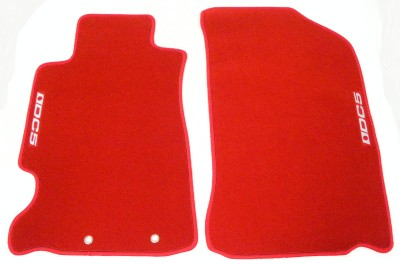 02 03 04 05 06 Acura Rsx Type S Dc5 Red Floor Mats Custom