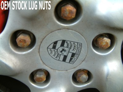 97 09 Porsche Boxster S 986 Stainless Steel Lug Nuts 20 Ebay