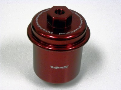 96 honda accord fuel filter 94-97 honda accord racing high flow fuel filter red
